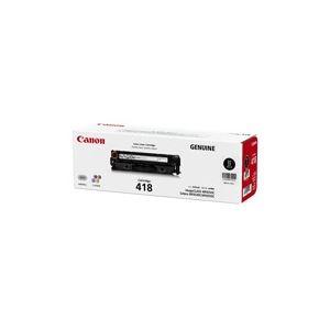キャノン トナーカートリッジ418 (ブラック) 2662B007 消耗品(インク/メディア) > トナーカートリッジ > A4サイズプリンタ用【旨い】