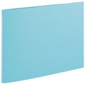 (業務用100セット) セキセイ のび~るファイル AE-51J A4E 青 ×100セット 穴をあけてとじるファイル フラットファイル 事務用品 まとめ