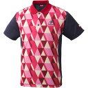 ニッタク(Nittaku)卓球アパレル SCALE SHIRT(スケールシャツ)NW2179 レッド L