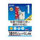 (まとめ)サンワサプライ インクジェット用スーパーファイン用紙A4サイズ100枚入り JP-EM5NA4-100【×5セット】