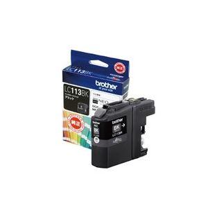(業務用20セット) ブラザー工業 インクカートリッジ LC113BKブラック ×20セット