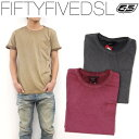 Tシャツ 半袖 メンズ 55DSL メンズ Tシャツ REGULAR FIT【送料無料】【在庫一掃】