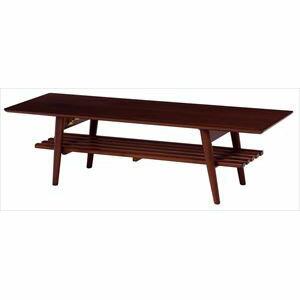 折れ脚テーブル MT-6924BR (き)【送料無料】 【送料無料】ウォールナットが美しい折れ脚テーブル。棚もついているので雑誌や新聞をストック可能。スクエアサイズ。【うれしい】