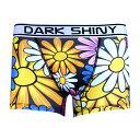 內衣褲, 睡衣 - DARK SHINY Men's BoxerPants-Flowers ダークシャイニー ボクサーパンツ アンダーウェア(代引き不可)【メール便で送料無料】【S1】