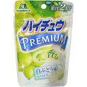 【ケース販売】森永 ハイチュウプレミアム 白ぶどう 35g×10袋 森永製菓