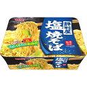 【ケース販売】評判屋 塩焼そば 107g×12個 明星食品【S1】