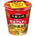 【ケース販売】中華三昧タテ型 銀座アスター監修 とろみ醤油麺 63g×12個 明星食品