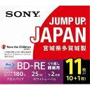 ソニー 11BNE1VSPS2 録画用BD-RE 書換え型 片面1層 2倍速 プリンタブル(11枚入)