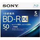 ソニー 録画用BD-R 2層 5BNR2VJPS4(5枚入)