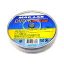 MAG-LAB アナログ録画用 DVD-R MG DVD-R120 4X PW10PS(10枚入)