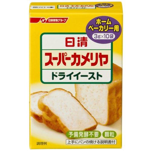 日清 スーパーカメリヤ ドライイースト ホームベーカリー用 3g×10袋 日清フーズ