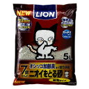 ショッピング猫砂 ライオン商事 ニオイをとる砂7歳以上用鉱物タイプ 5L