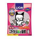 ショッピング猫砂 ライオン商事 LION ニオイをとる紙の猫砂 10L