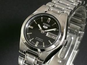セイコー 5 SEIKO ファイブ 腕時計 時計 自動巻き レディース SYM1J1【_包装】 改善(改善)