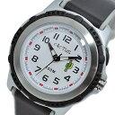 カクタス CACTUS クオーツ 100M 腕時計 時計 キッズ CAC-78-M01 ホワイト/ブラック