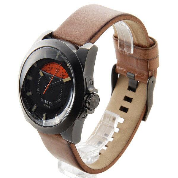 ディーゼル DIESEL アージェス ARGES クオーツ メンズ 腕時計 時計 DZ1660 ブラック【_包装】 【ラッピング無料】