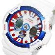 カシオ CASIO G-SHOCK デジタル メンズ 腕時計 時計 GA-201TR-7A ホワイト【楽ギフ_包装】