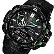 カシオ CASIO プロトレック 電波 タフソーラー メンズ 腕時計 PRW-6000Y-1A ブラック【送料無料】【楽ギフ_包装】