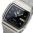 セイコー ファイブ SEIKO 5 自動巻き レディース 腕時計 時計 SNXK97J1 ブラック【楽ギフ_包装】