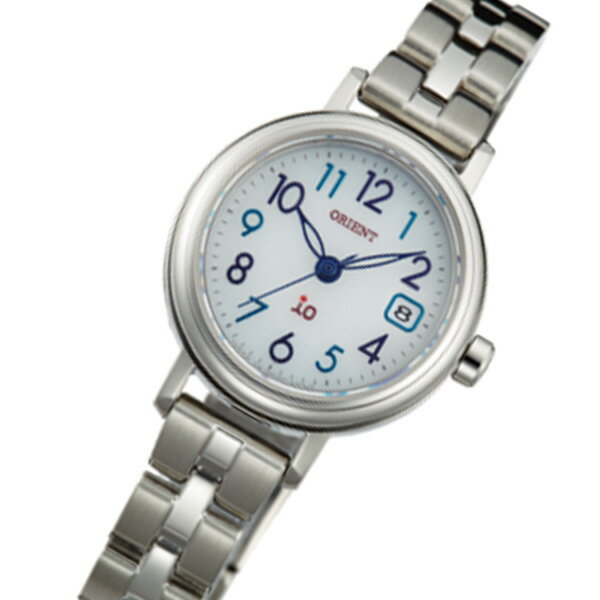 オリエント ORIENT イオ iO ソーラー レディース 腕時計 時計 WI0031WG シルバー 国内正規【_包装】 【ラッピング無料】