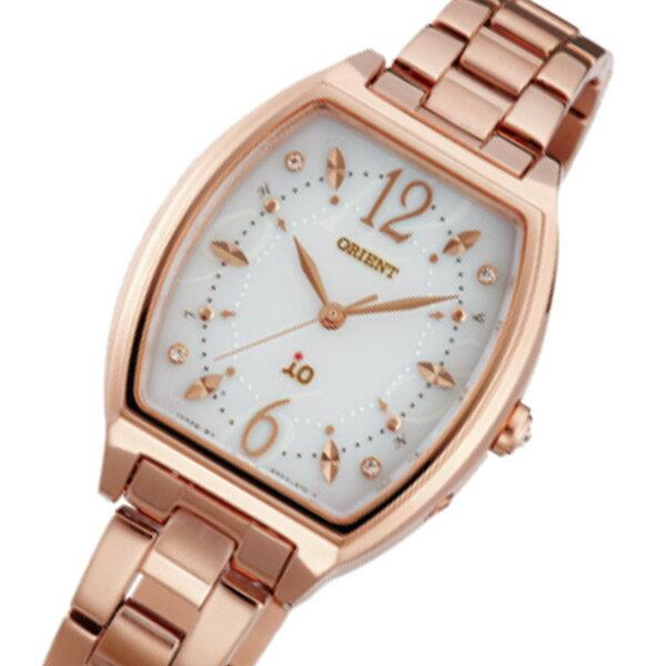 オリエント ORIENT イオ ソーラー レディース 腕時計 時計 WI0151SD アイボリー 国内正規【_包装】 【ラッピング無料】