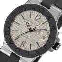 ブルガリ BVLGARI ディアゴノ 自動巻き メンズ 腕時計 DG35C6SVD ホワイト