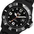 アイスウォッチ フォーエバー クオーツ メンズ 腕時計 時計 SI.BK.B.S.09 ブラック【楽ギフ_包装】