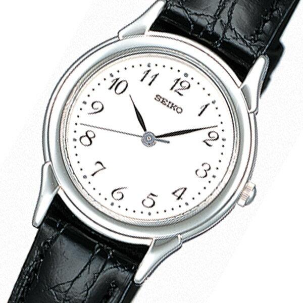 セイコー SEIKO スピリット クオーツ レディース 腕時計 時計 STTC005 ホワイト 国内正規【_包装】 【ラッピング無料】