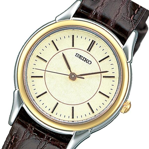 セイコー スピリット クオーツ レディース 腕時計 時計 STTC006 アイボリー 国内正規【_包装】 【ラッピング無料】