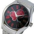 フィッチェ FICCE 自動巻き メンズ 腕時計 時計 FC-11080-05 ブラック/レッド【楽ギフ_包装】