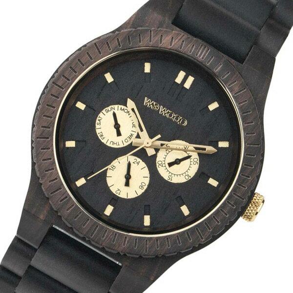 ウィーウッド WEWOOD 木製 メンズ 腕時計 時計 KAPPA-BLACK-RO ブラック 国内正規【_包装】 【ラッピング無料】