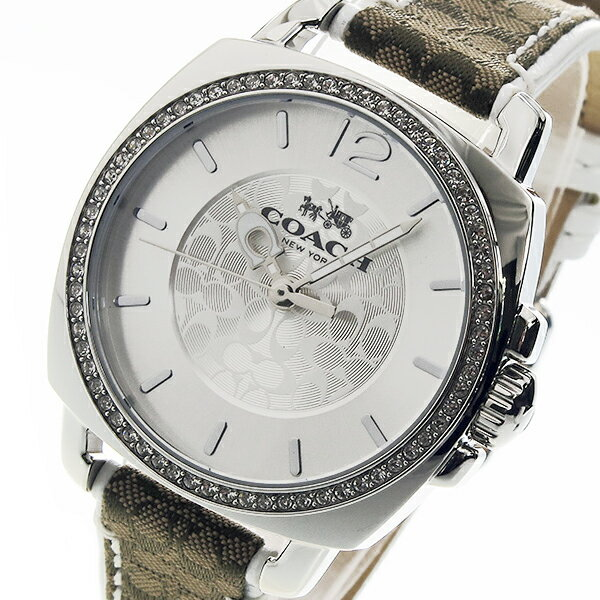 コーチ COACH クオーツ レディース 腕時計 時計 14502416 シルバー【_包装】 【ラッピング無料】