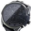 ディーゼル DIESEL メガチーフ クロノ クオーツ メンズ 腕時計 時計 DZ4378 ブラック【楽ギフ_包装】