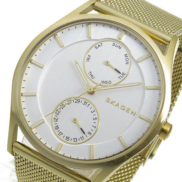 スカーゲン SKAGEN ホルスト HOLST クオーツ メンズ 腕時計 時計 SKW6173 ホワイト【_包装】 【ラッピング無料】