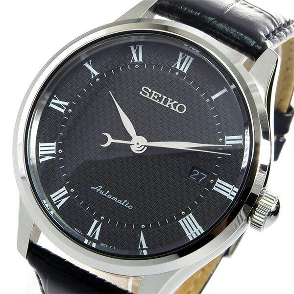 セイコー SEIKO 自動巻き メンズ 腕時計 時計 SRP769K2 ブラック【_包装】 【ラッピング無料】