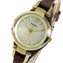 フォッシル FOSSIL ジョージア クオーツ レディース 腕時計 時計 ES3264 シャンパン【楽ギフ_包装】