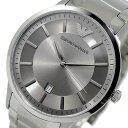 エンポリオ アルマーニ EMPORIO ARMANI クオーツ メンズ 腕時計 時計 AR2478 シルバー【楽ギフ_包装】