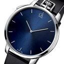 カルバンクライン エクセプショナル クオーツ メンズ 腕時計 時計 CLK3Z211CN ブルー【楽ギフ_包装】