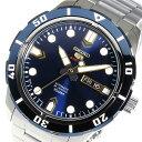 セイコー 5 スポーツ 自動巻き メンズ 腕時計 時計 SRP677J1 ネイビー【楽ギフ_包装】