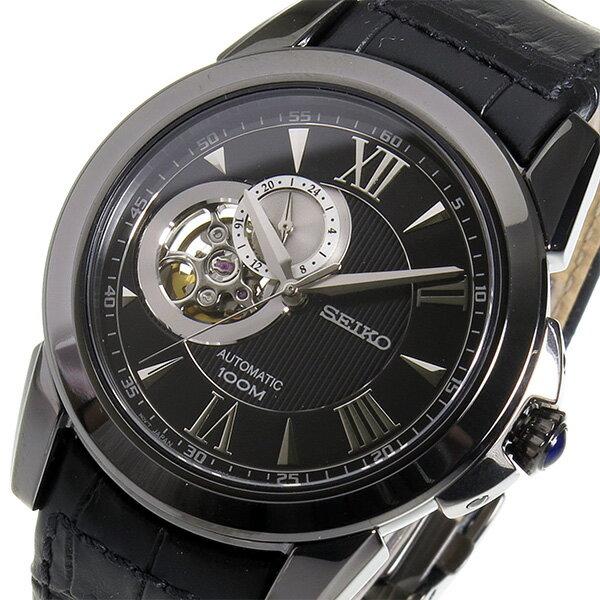 セイコー ルグランスポーツ 自動巻き メンズ 腕時計 時計 SSA243 ブラック【_包装】 【ラッピング無料】【デジタル 腕時計 セイコー】