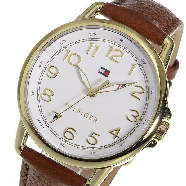 トミー ヒルフィガー TOMMY HILFIGER クオーツ レディース 腕時計 時計 1781654 ホワイト【_包装】 【ラッピング無料】清水かれん