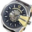 ディーゼル DIESEL メガチーフ 自動巻き メンズ 腕時計 時計 DZ4379 ブラック【楽ギフ_包装】