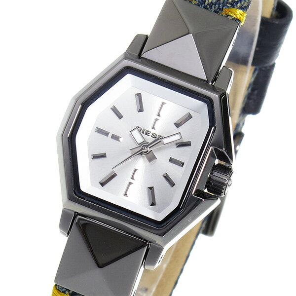 ディーゼル DIESEL Z BACK UP クオーツ レディース 腕時計 時計 DZ5444 シルバー【_包装】 【ラッピング無料】