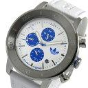 アディダス ADIDAS マンチェスター クオーツ メンズ 腕時計 時計 ADH3098 ホワイト【楽ギフ_包装】
