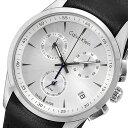 カルバンクライン Calvin Klein クロノ クオーツ メンズ 腕時計 時計 K5A271C6 シルバー【楽ギフ_包装】