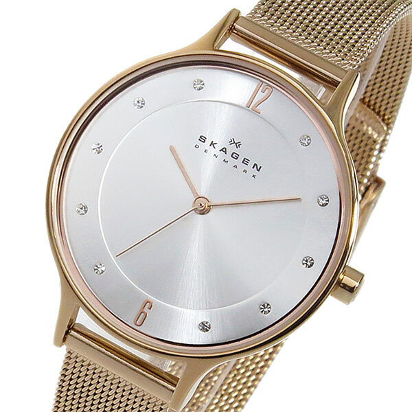 スカーゲン SKAGEN アニータ クオーツ レディース 腕時計 時計 SKW2151 シルバー【_包装】 【ラッピング無料】