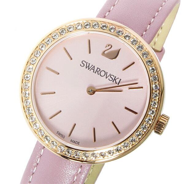 スワロフスキー SWAROVSKI クオーツ レディース 腕時計 時計 5213667 アンティークピンク【_包装】 【ラッピング無料】
