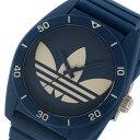 アディダス ADIDAS オリジナルス ORIGINALS サンティアゴ ユニセックス 腕時計 時計 ADH3138 ネイビー/グレー【楽ギフ_包装】