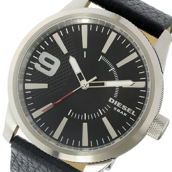 ディーゼル DIESEL ラスプ Rasp クオーツ メンズ 腕時計 時計 DZ1766 ブラック【_包装】 【ラッピング無料】最も手頃な価格