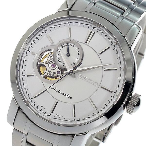 セイコー SEIKO オートマチック 自動巻き メンズ 腕時計 時計 SSA263K1 ホワイト【_包装】 【ラッピング無料】